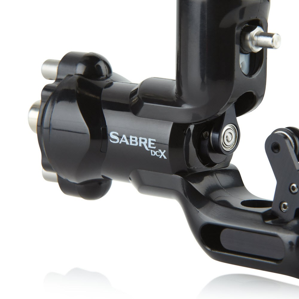 Sabre DCX Tattoo Machine Jet Black | Tattoo Machan